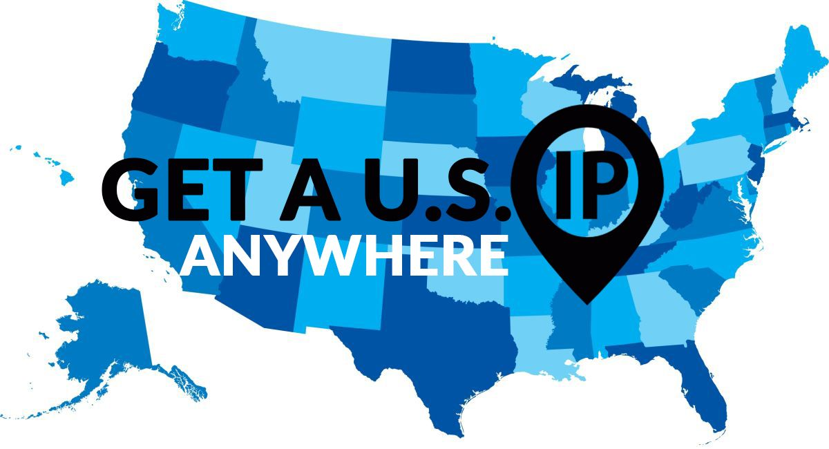 How to change the IP address to USA